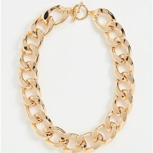 Kenneth Jay Lane Chunky Chain Necklace
